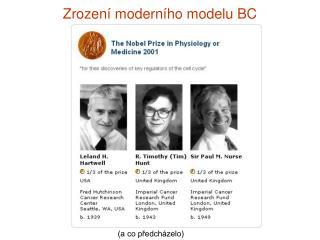 Zrození moderního modelu BC
