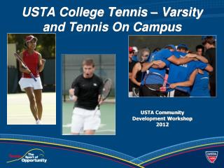 USTA College Tennis – Varsity and Tennis On Campus