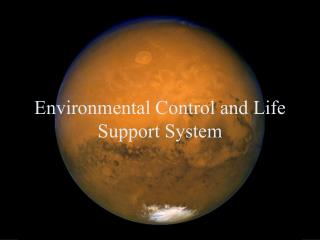 Environmental Control and Life Support System