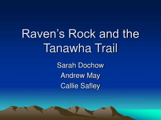 Raven s Rock and the Tanawha Trail