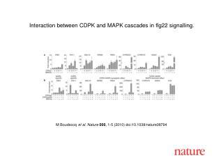 M Boudsocq et al. Nature 000 , 1-5 (2010) doi:10.1038/nature08794