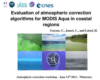 Evaluation of atmospheric correction algorithms for MODIS Aqua in coastal regions