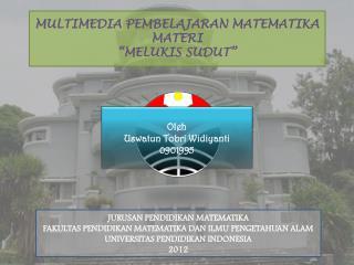 "MULTIMEDIA PEMBELAJARAN MATEMATIKA MATERI ""MELUKIS SUDUT"""