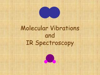 Molecular Vibrations and IR Spectroscopy