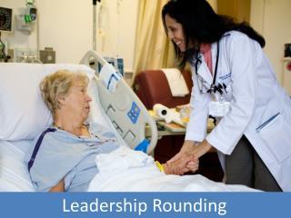 Leadership Rounding