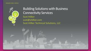 Building Solutions with Business Connectivity Services