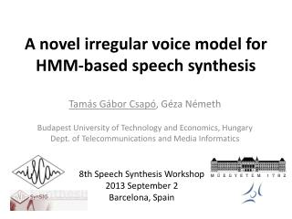 A novel irregular voice model for HMM-based speech synthesis