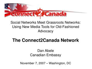 Social Networks Meet Grassroots Networks: Using New Media Tools for Old-Fashioned Advocacy
