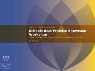 Schools Best Practice Showcase Workshop