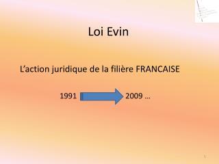 Loi Evin