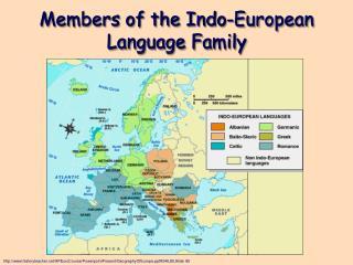 Members of the Indo-European Language Family