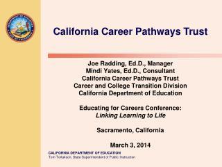 California Career Pathways Trust
