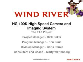 HG 100K High Speed Camera and Imaging System