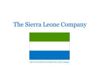 The Sierra Leone Company