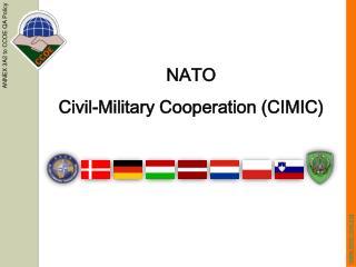 NATO  Civil-Military Cooperation (CIMIC)