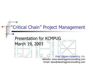 """Critical Chain"" Project Management"