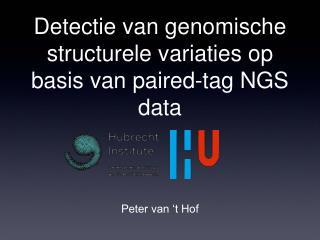 Detectie van genomische structurele variaties op basis van paired-tag NGS data