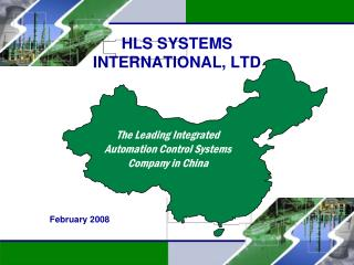 HLS SYSTEMS  INTERNATIONAL, LTD