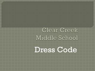 Clear Creek Middle School