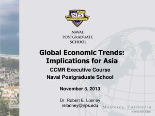 Global Economic Trends: Implications for Asia