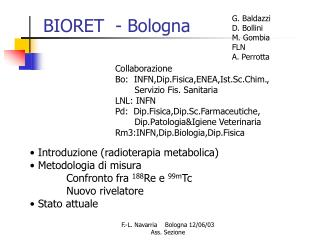 BIORET  - Bologna