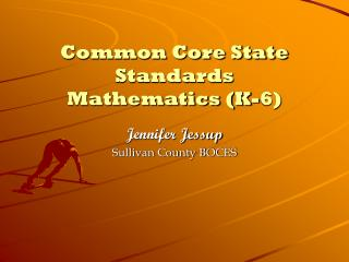 Common Core State Standards Mathematics (K-6)