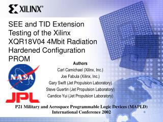 SEE and TID Extension Testing of the Xilinx XQR18V04 4Mbit Radiation Hardened Configuration PROM