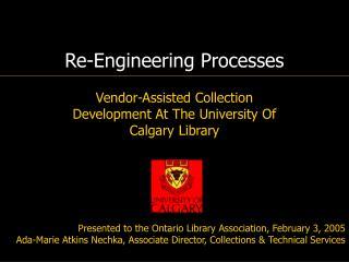 Re-Engineering Processes
