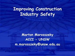 Improving Construction Industry Safety