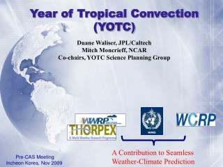 Year of Tropical Convection (YOTC)