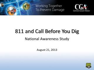 811 and Call Before You Dig