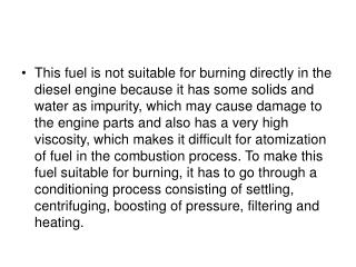 Fuel Oil Systems