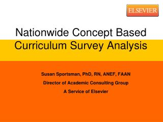 Nationwide Concept Based Curriculum Survey Analysis