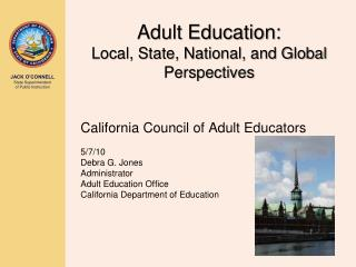 Adult Education: Local, State, National, and Global Perspectives