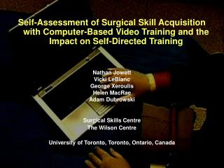 Rogers et al (1998): CBVT vs. didactic lecture