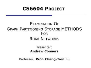 CS6604 P ROJECT
