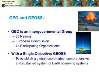 GEO and GEOSS…