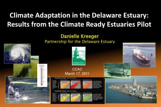 Climate Adaptation in the Delaware Estuary: Results from the Climate Ready Estuaries Pilot