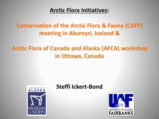 Overview CAFF meeting: Circumpolar Boreal Vegetation Mapping Workshop