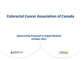 Colorectal Cancer Association of Canada