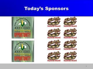 Today's Sponsors