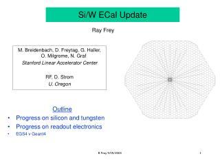 Si/W ECal Update