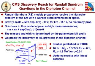 CMS Discovery Reach for Randall Sundrum Gravitons in the Diphoton Channel