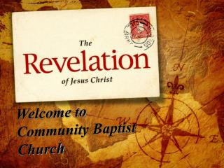 Welcome to Community Baptist Church