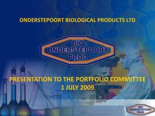 ONDERSTEPOORT BIOLOGICAL PRODUCTS LTD
