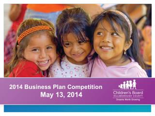 2014 Business Plan Competition 		May 13, 2014