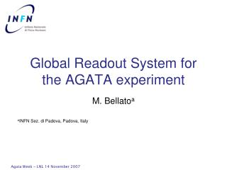 Global Readout  System for the AGATA experiment