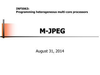 M-JPEG