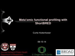Meta'omic  functional profiling with  ShortBRED