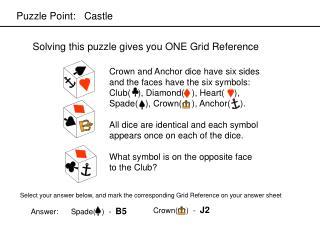 Puzzle Point:   Castle
